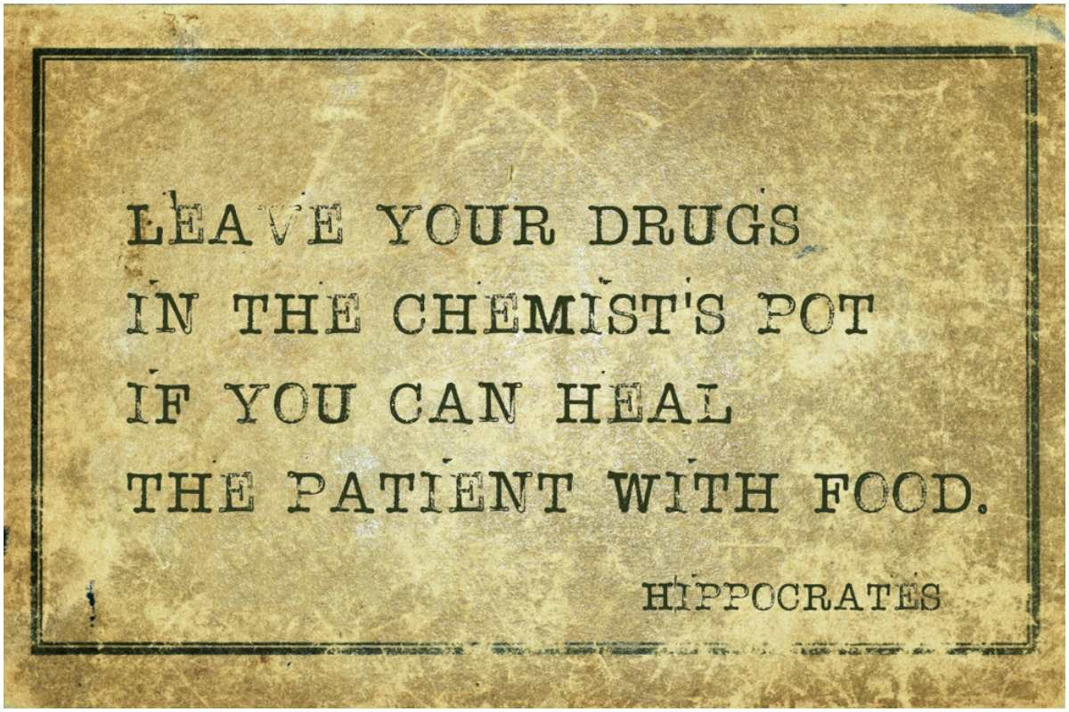 Greek physician Hippocrates quote (2)