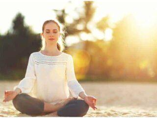 How To Do Sukhasana Easy Sitting Pose + Benefits