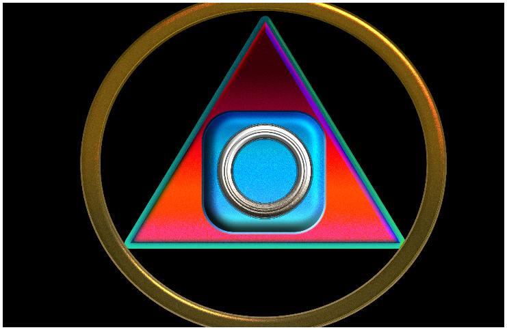 Philosopher's Stone alchemy symbol