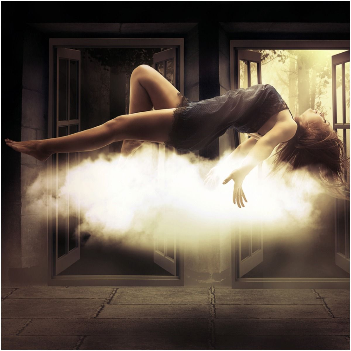 astral body woman