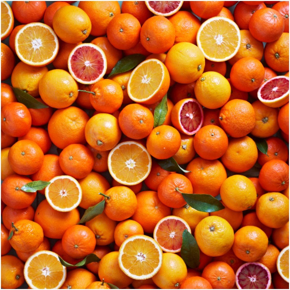 orange fruit vitamin C