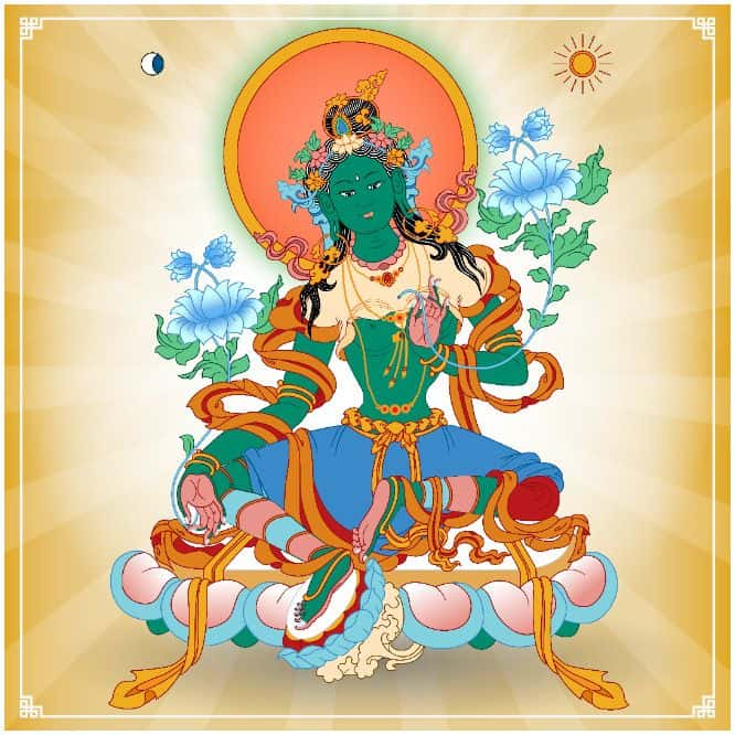 Green Tara Mantra Meaning and Benefits - Arya Tara Mantra