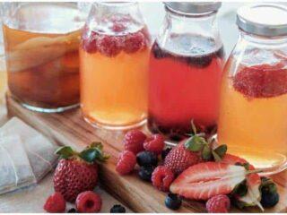 Kombucha Tea Benefits For Weight Loss And Skin Health + Side Effects
