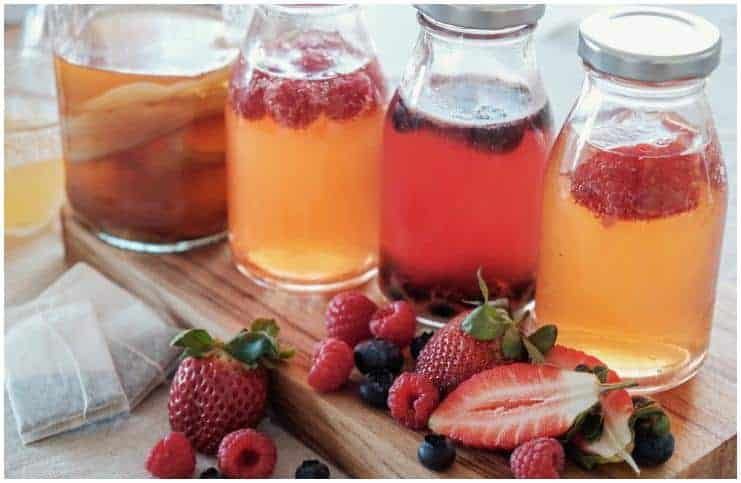 Kombucha Tea Benefits For Weight Loss And Skin Health + Side Effects