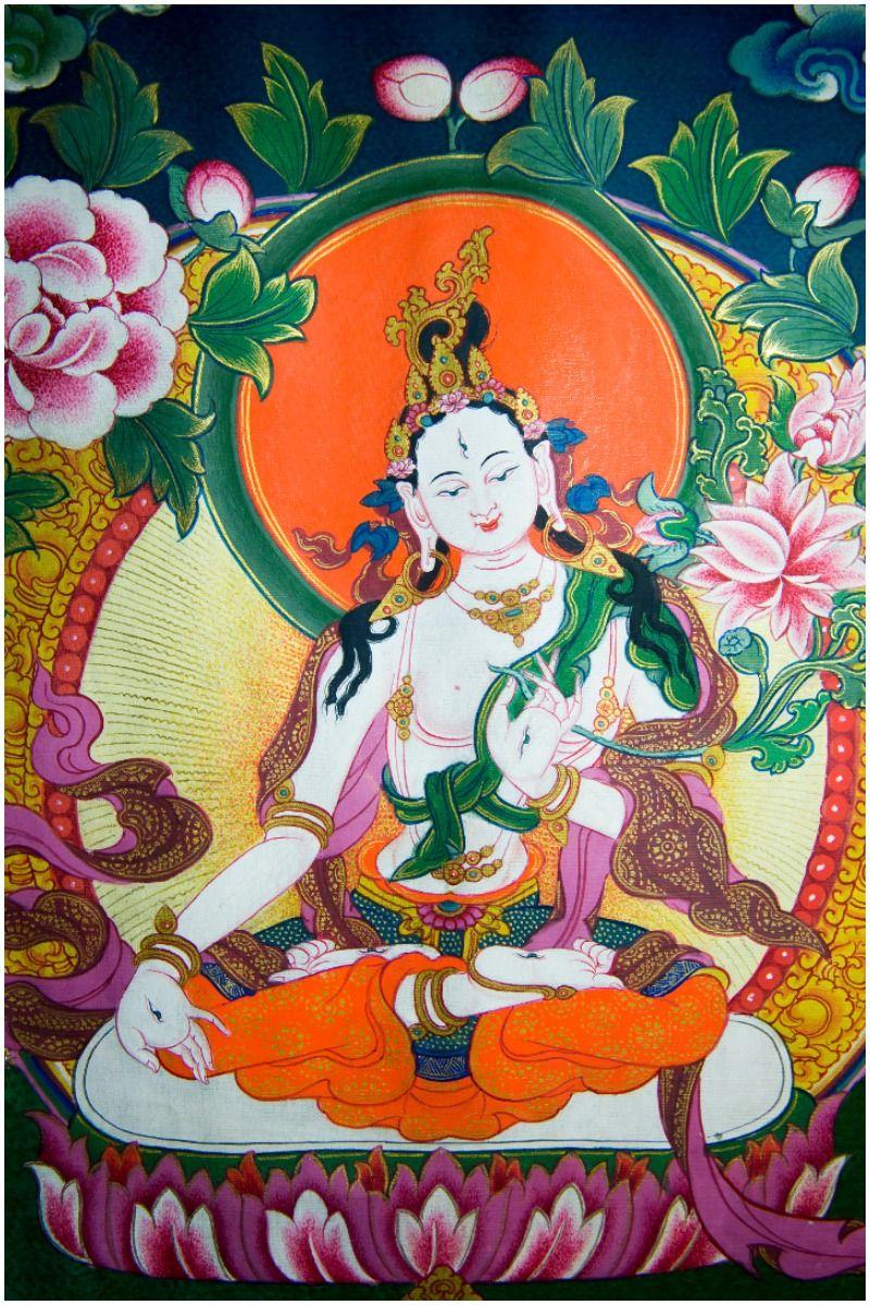 White Tara Mantra lyrics facts