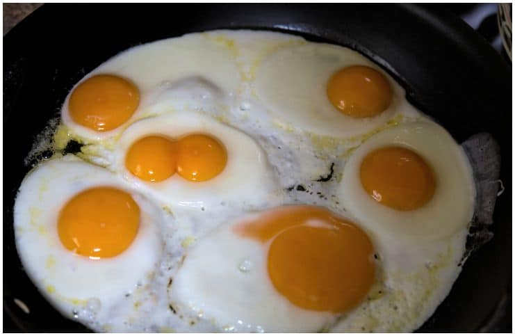 Double yolks What do they mean and are they safe