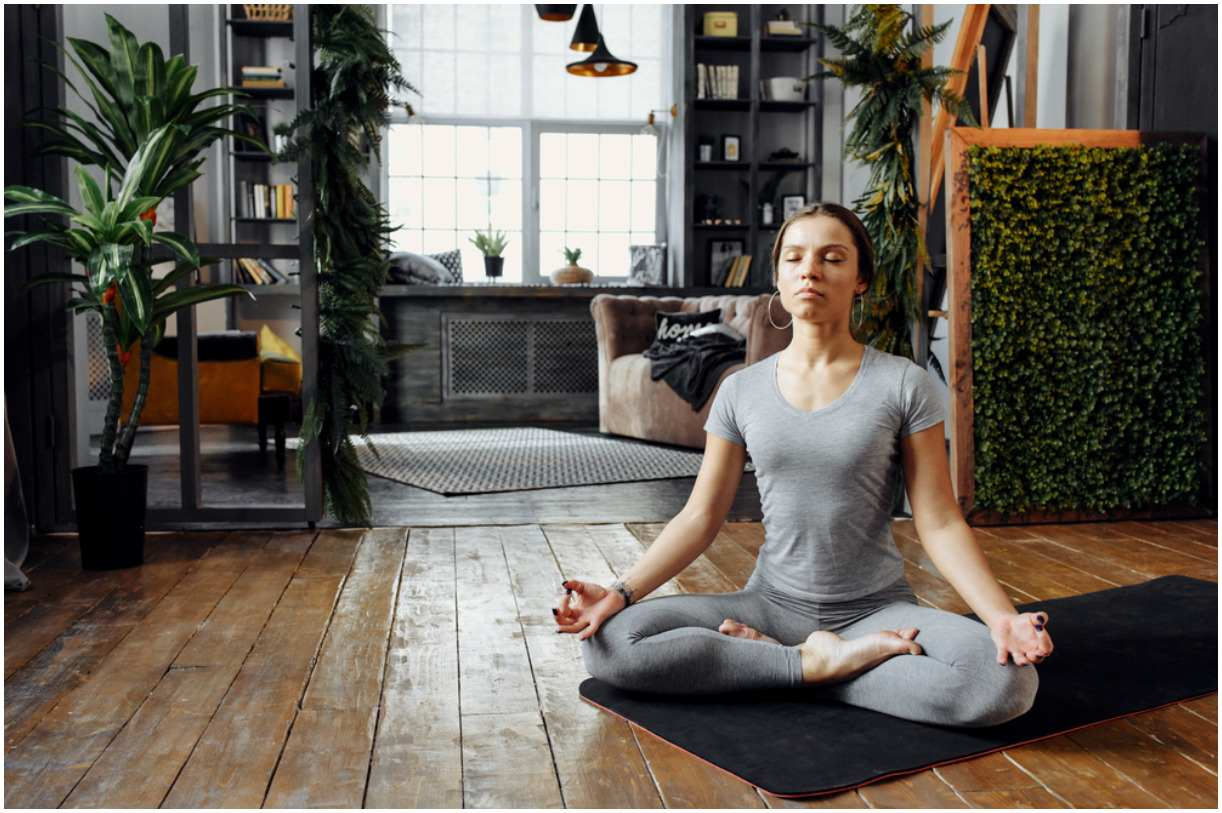 meditate in your home