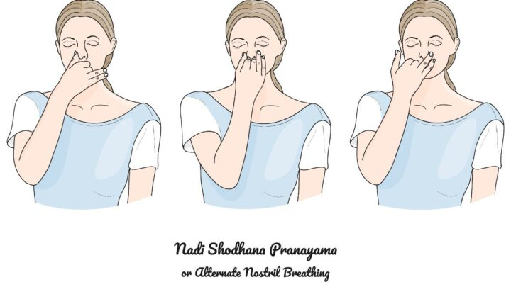 Alternate Nostril Breathing - The Nine Purification Breaths Instructions & Warnings