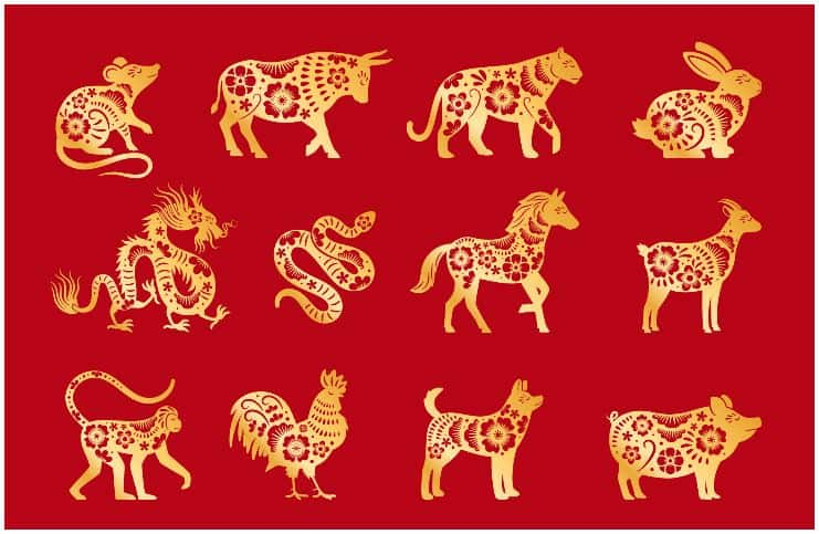 Chinese Zodiac - 12 Animal Signs With Their Meanings
