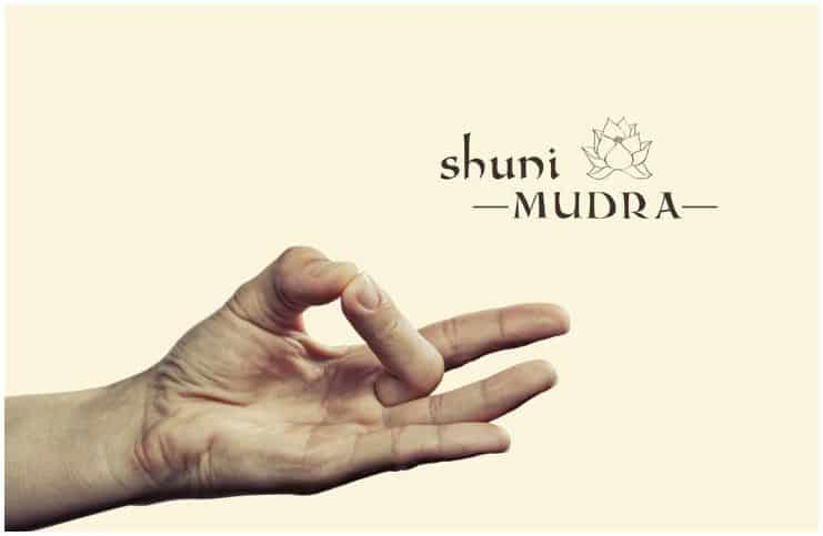 Shuni mudra - Seal of Patience