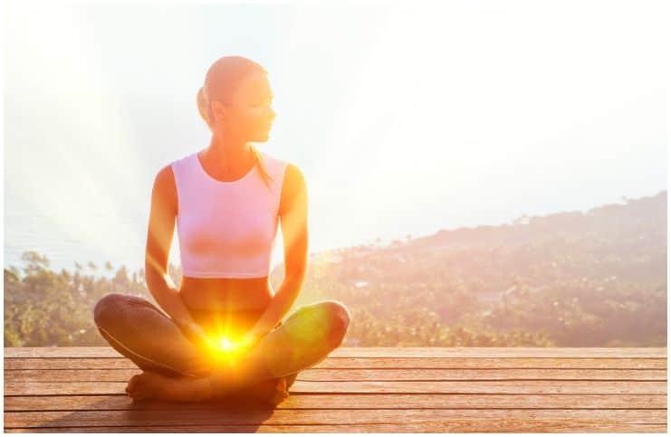 meditation energy sunshine