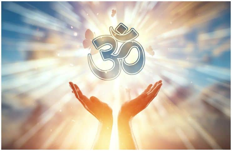Om (or Aum) symbol meaning