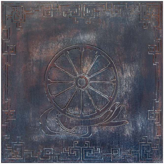 The Dharma Wheel symbol meaning