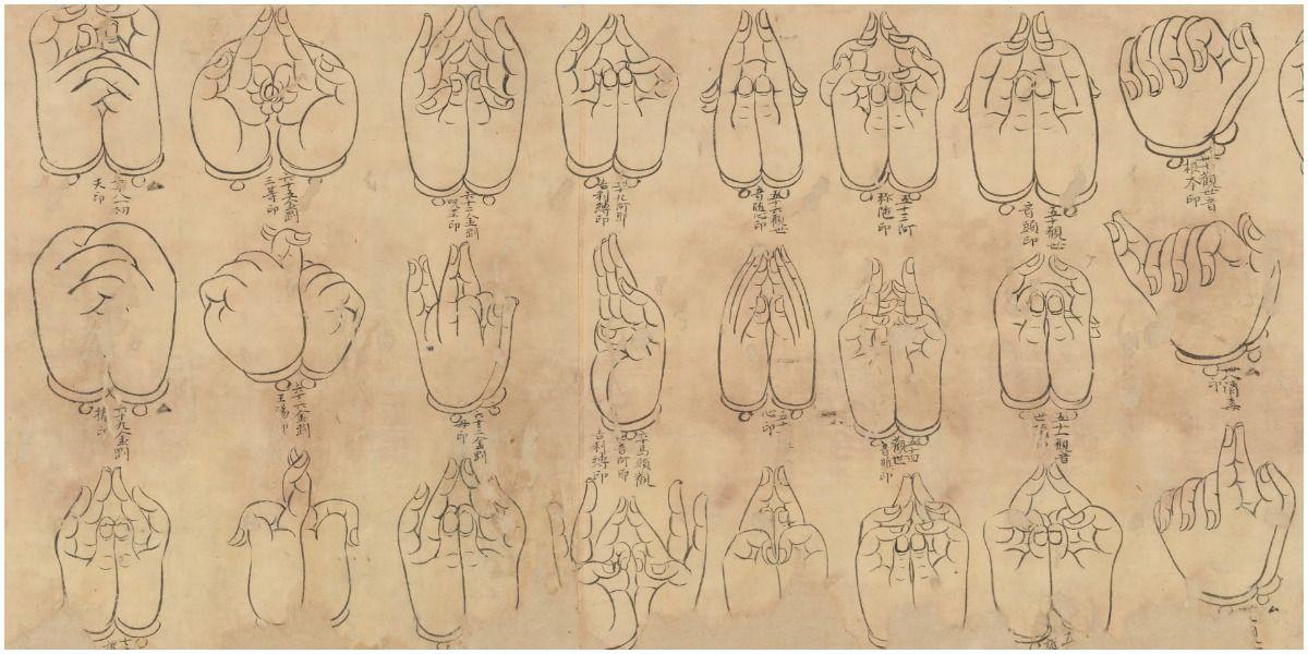 many types of mudras