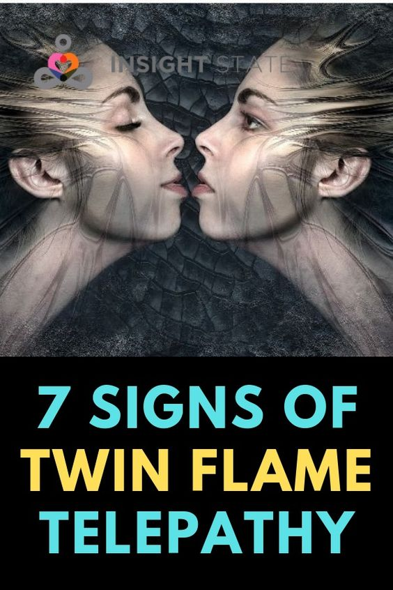 7 Signs of Twin Flame Telepathy