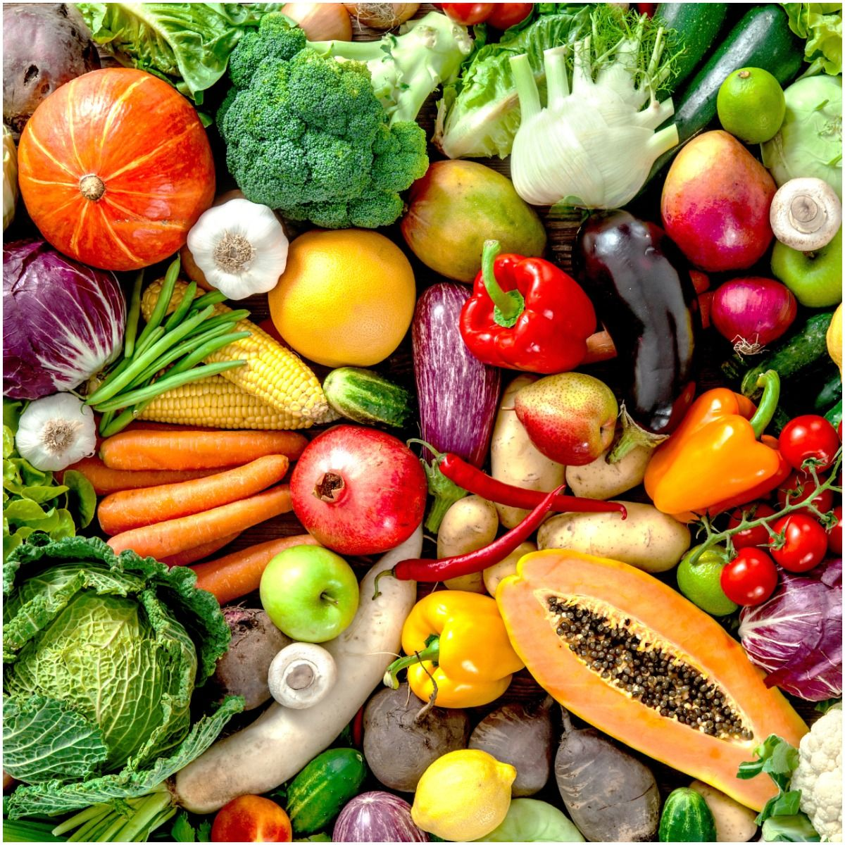Nutrition fruits and veggies