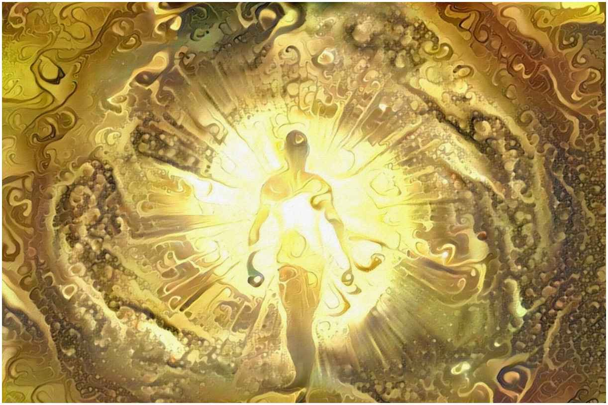 golden aura meaning