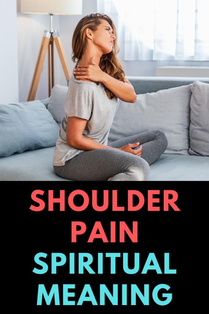 shoulder pain spiritual meaning