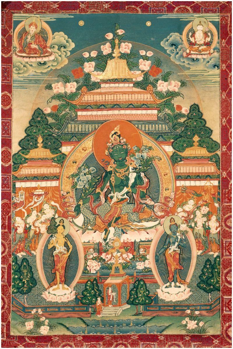 Green Tara Mantra Meaning and Benefits - Arya Tara Mantra Icon