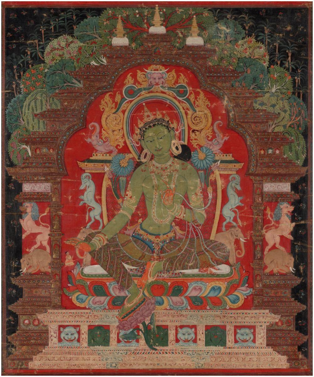 Green Tara Mantra Meaning and Benefits Lyrics