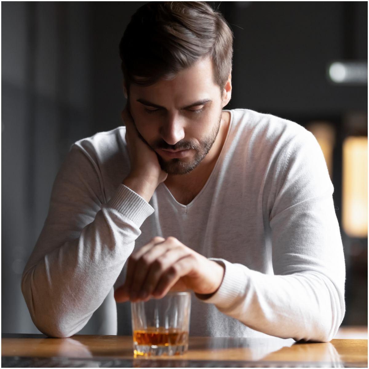 alcoholism man