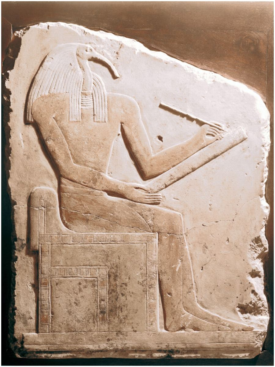 Thoth is the Egyptian god of writing