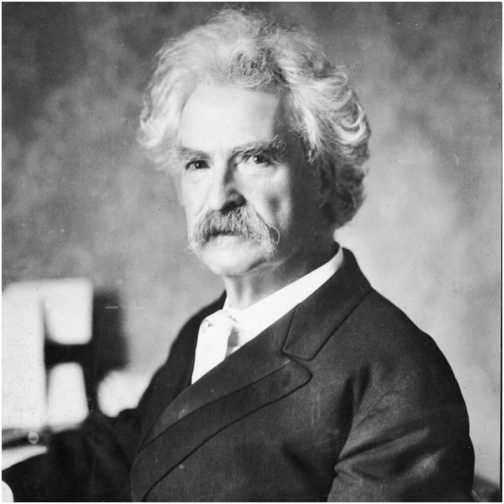 Mark Twain famous quote