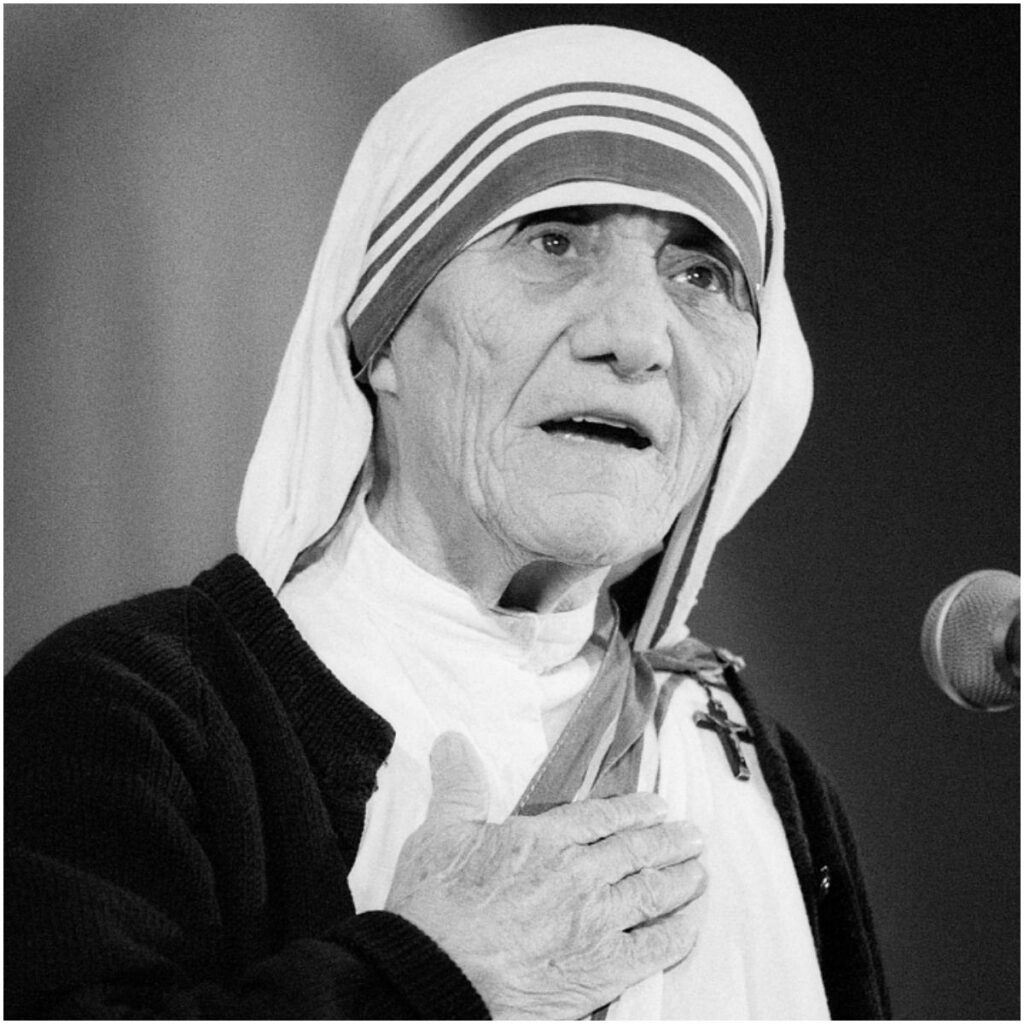 Mother Teresa famous quote