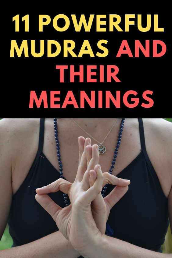 Powerful Mudras And Their Meanings
