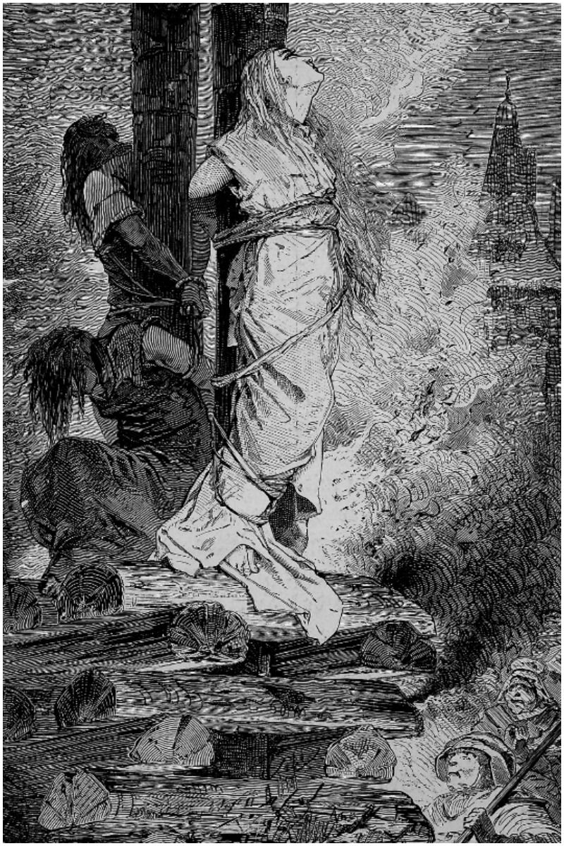 burning of a witch